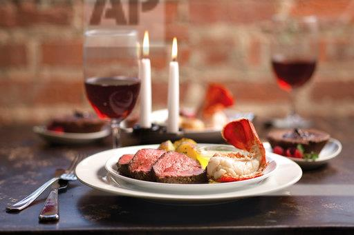 OMAHA STEAKS ROMANTIC DINNER AT HOME