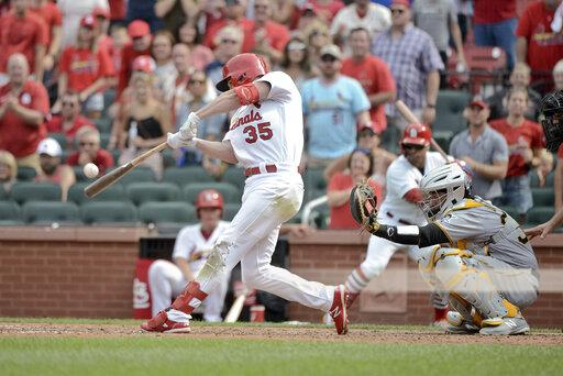 MLB: AUG 11 Pirates at Cardinals