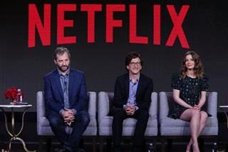Judd Apatow, Paul Rust, Gillian Jacobs