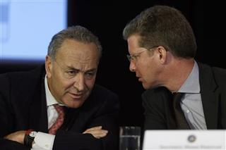 Charles Schumer, Shaun Donovan