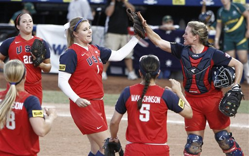 US Australia Softball