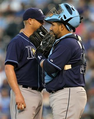 Alex Cobb Jose Molina
