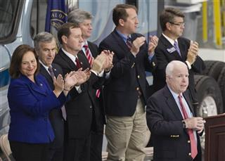 John McCain, Deb Fischer, Mike Johanns, Rick Sheehy, Adrian Smith, Lee Terry, Jeff Fortenberry