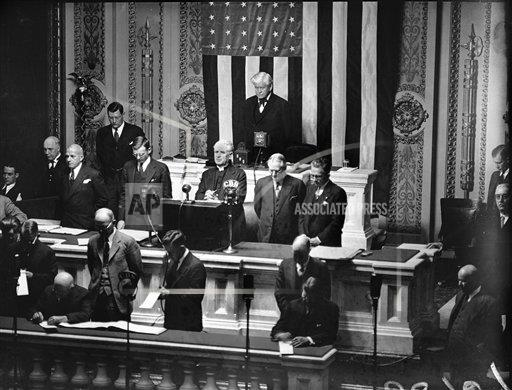 Watchf AP A  DC USA APHS195684 Congress Opening Prayer