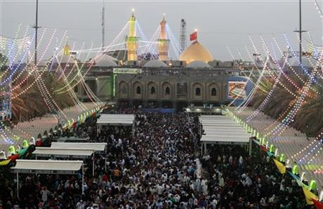 Mideast Iraq Shabaniyah festival
