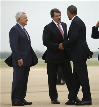 Barack Obama, Rick Perry, Lee Leffingwell
