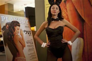 Mideast Israel Playboy
