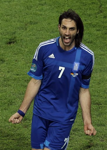 Soccer Euro 2012 Germany Greece