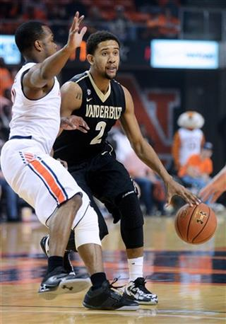 Vanderbilt Auburn Basketbll
