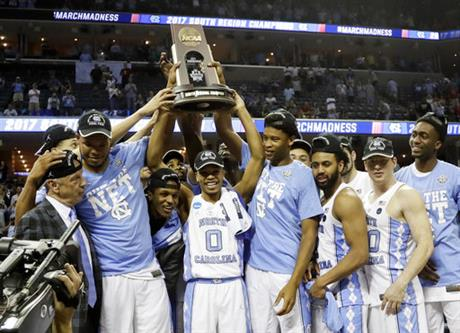NCAA Kentucky North Carolina Basketball