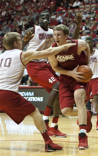 Indiana Scrimmage Basketball