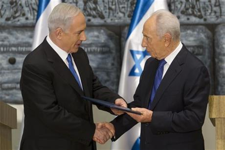 Benjamin Netanyahu, Simon Peres