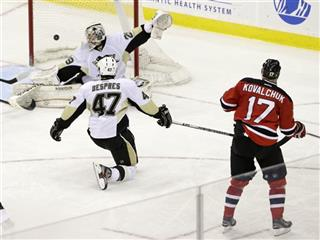 Ilya Kovalchuk, Marc-Andre Fleury, Simon Despres