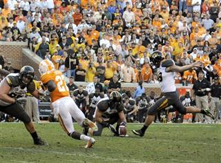 Missouri Tennessee Football