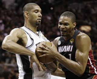Tim Duncan, Chris Bosh
