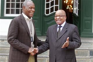 Danny Glover, Jacob Zuma