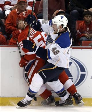 David Backes, Niklas Kronwall