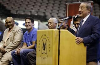 Bob Arum, Mark Cuban, George Foreman