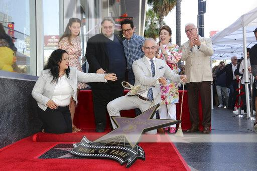 Guillermo del Toro Honored with a Star on the Hollywood Walk of Fame