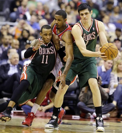 Monta Ellis, Ersan Ilyasova