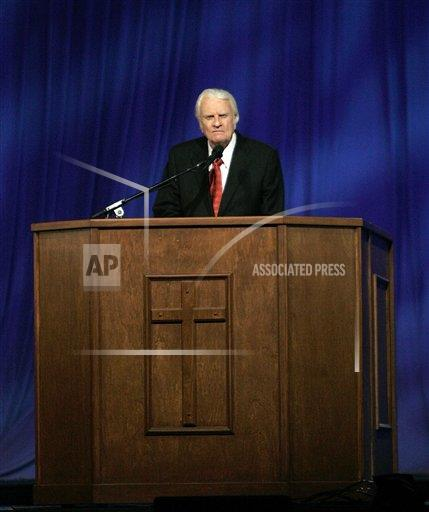 Associated Press Domestic News Louisiana United States BILLY GRAHAM NEW ORLEANS