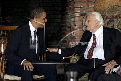 Obama Billy Graham