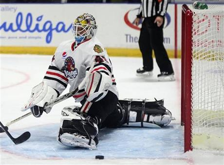 AHL: Leighton On Verge Of Breaking Bower's Minor League Shutout Record