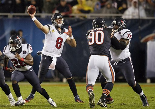 Julius Peppers, Matt Schaub, Duane Brown