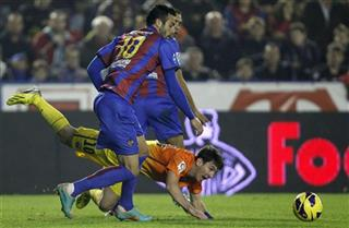 Lionel Messi, Vicente Iborra