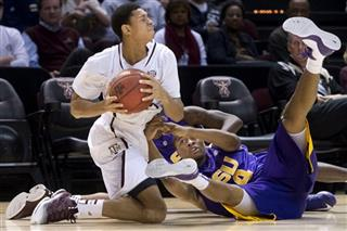LSU Texas A M Basketball