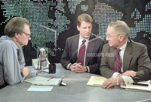 Watchf Associated Press Domestic News  Dist. of Col United States APHS178153 Al Gore and Ross Perot