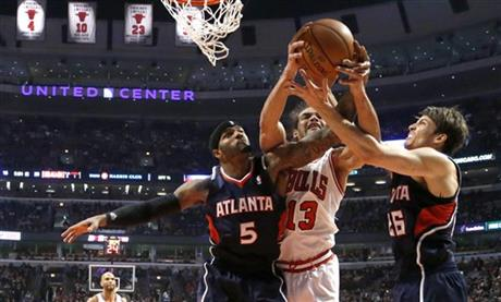 Joakim Noah, Josh Smith, Kyle Korver