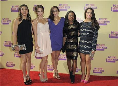 Kyla Ross, McKayla Maroney, Jordyn Wieber, Gabrielle Douglas, Alexandra Raisman