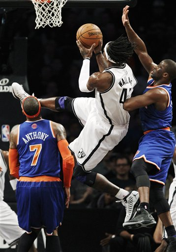 Gerald Wallace, Ray Felton