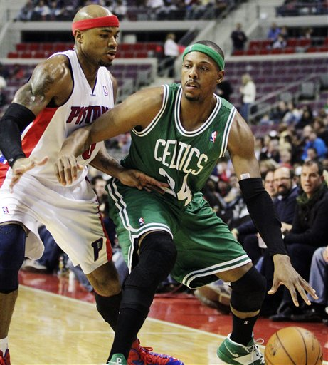 Paul Pierce, Corey Maggette