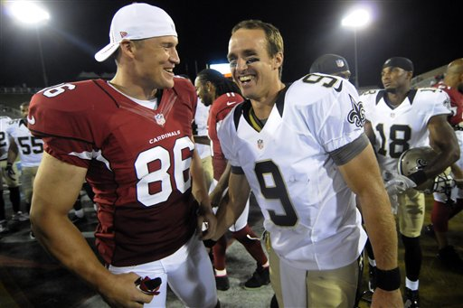 Todd Heap, Drew Brees