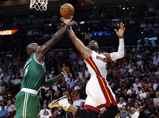 KevinGarnett, Dwyane Wade