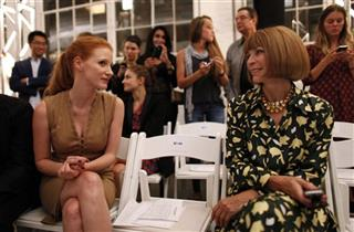 Jessica Chastain, Anna Wintour