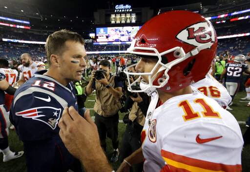 Tom Brady, Alex Smith