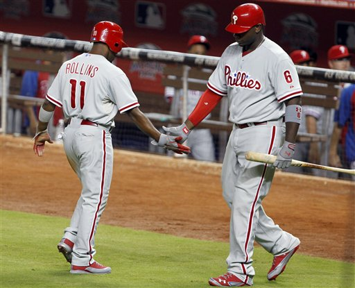 Jimmy Rollins, Ryan Howard
