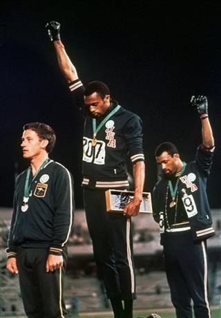 Black Power Salute Apology Athletics