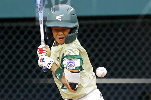 LLWS South Korea Curacao Baseball