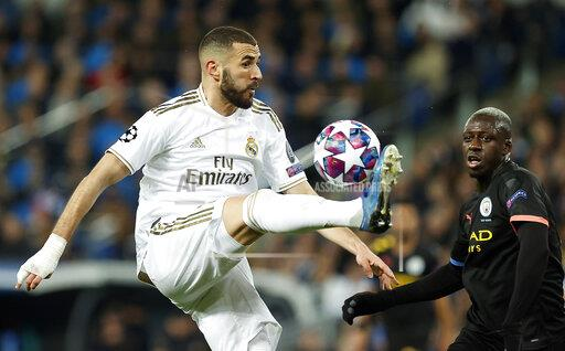 UEFA Champions league Real Madrid vs Manchester City in Madrid, Spain - 26 Feb, 2020