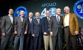  Walt Cunningham, James Lovell, David Scott, Buzz Aldrin, Charles Duke, Thomas Stafford, Eugene Cernan