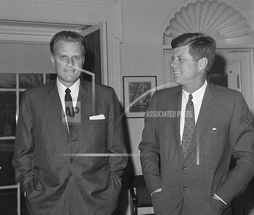 Associated Press Domestic News Dist. of Columbia United States GRAHAM AND KENNEDY 1961