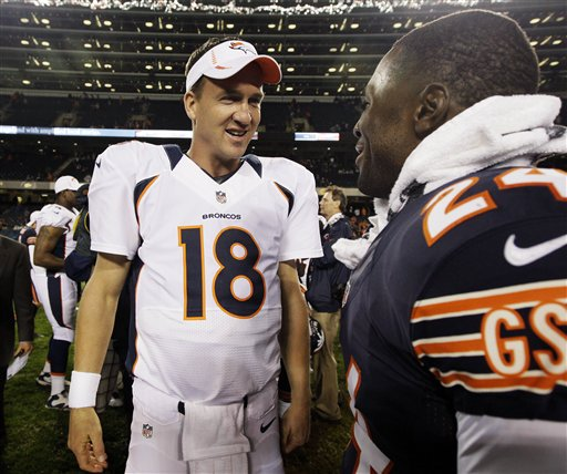 Peyton Manning,  Kelvin Hayden