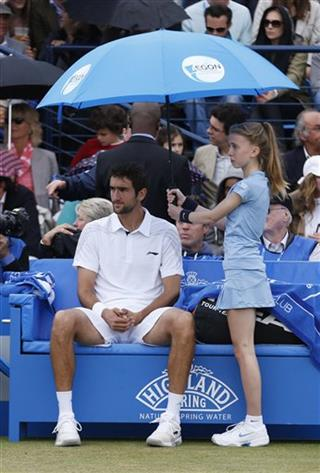 Marin Cilic of Croatia