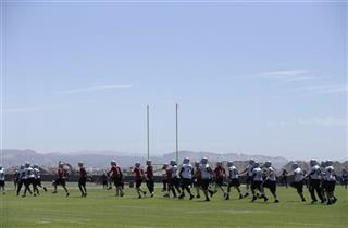 Raiders Camp Football