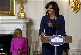 Michelle Obama, Rachel Robinson