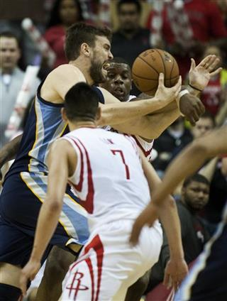 Grizzlies Rockets Basketball